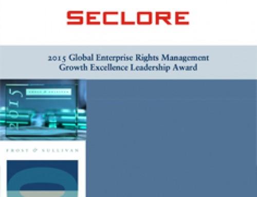 Seclore – Frost & Sullivan Report 2015